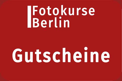 Gutscheine für Fotokurse und Modelsharings Berlin