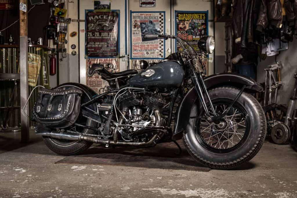 Harley-Davidson mieten für Foto, Film und Fernsehen