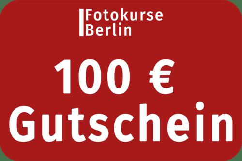 100 Euro Gutschein FotokurseBerlin.de
