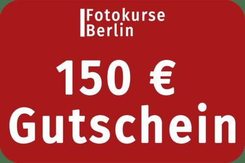 150 Euro Gutschein FotokurseBerlin.de
