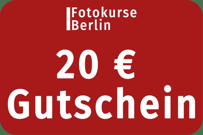 20 Euro Gutschein FotokurseBerlin.de
