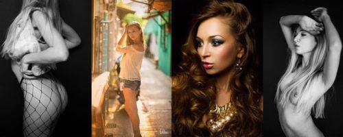 August Shooting mit Galina