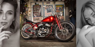 Harley Davidson Shootings mit Cara Mell und Olga Kobzar #55